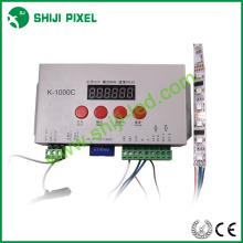 Chegada nova rgb led dmx 512 cartão sd led controlador K-1000C