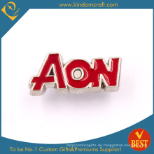 Benutzerdefinierte Ihr eigenes Logo Metall Pin Badge