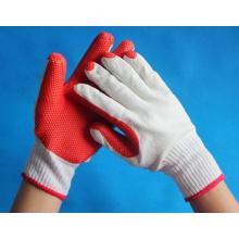 Gants de coton en caoutchouc naturel coté en usine à vendre