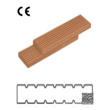 Decking composite en plastique bois antidérapant