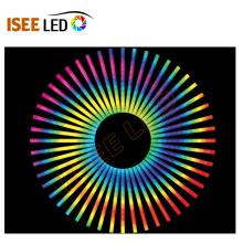 Décoration d'intérieur de tube numérique LED coloré 12W