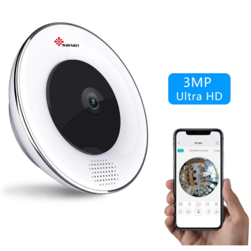 3MP hd wifi 360 mini câmera