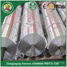 Venta caliente de buena calidad que muestra el papel de aluminio en rollo