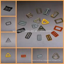 top sale metal material shaped ykk buckles