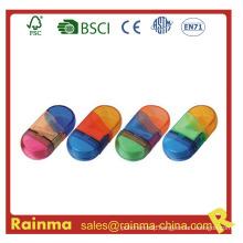 School Favor Colour Sharpener with Eraser