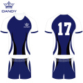 Kundenspezifische Rugby-Jersey-Polyester-Rugby-Uniform