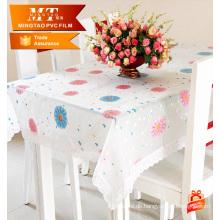 Großhandelsneue Art PVC-Tischdecke-Blumentischabdeckung für Haus