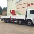 Grúa montada sobre camión con brazo articulado de cilindro hidráulico de fábrica