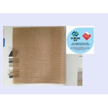 correa de malla del teflon del ptfe correa de correa revestida de la fibra de vidrio del PTFE malla abierta grueso de 0.5mm con la marca registrada de TEFLON Autorizado por Du Pont