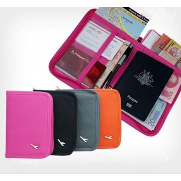 Multifuncional portátil dobrável Travel Passport sacos (RE4510)