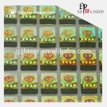 Kundenspezifische Kratzer aus Etiketten für Lotteriekarten mit Druck