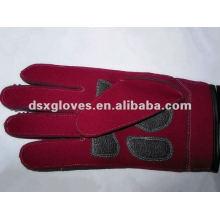 Кожаные рабочие перчатки thinsulate