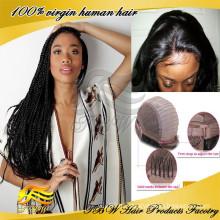 Завод оптовая высокое качество африканские плетеные кружева перед парики для чернокожих женщин