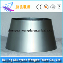 Atacado lâmpada de mesa redonda lâmpada abajur metal frame cubo lâmpada sombra