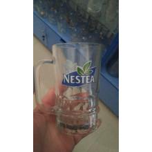 Taza de cerveza Taza de cristal del anuncio (diseño opcional)