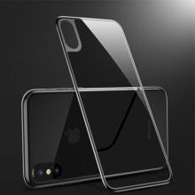 Caso de vidro temperado de volta 3D para iPhone X