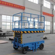 8m hydraulische Scherenhebebühne für Autowaschanlage