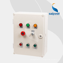 Saip Saipwell Vente Chaude Personnalisée Projet Clôture Boîte De Contrôle Extérieure Chine Meilleur Prix IP66 Boîtier De Contrôle Électrique Imperméable À L'eau
