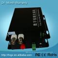 Волокна передатчик и приемник 2 канала BNC 2 преобразования аналогового видеонаблюдения в IP камеры