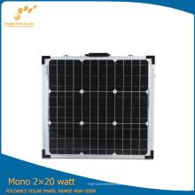 Panel solar plegable de 40W con alta calidad
