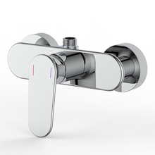 New arrival wall mounted bath room thermostatic shower faucet mixer set