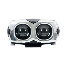 Motorcycle LED spotlight headlight