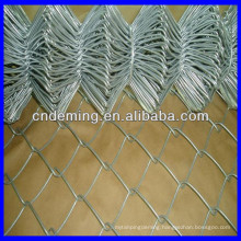 9 guage pvc coated chain link wire mesh fence