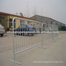 Temporary welded tube Barriers