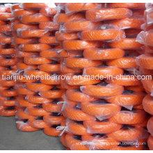 PU Foam Wheels Used in Wheelbarrow with 16inch 4.00-8 Straight Line