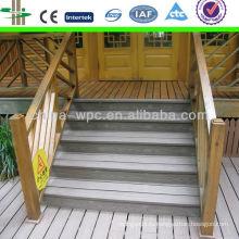 Новый открытый wpc лестницы