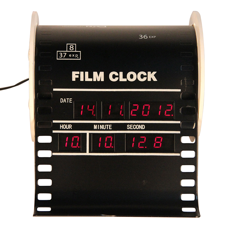 Mini Vertical Film Alarm Digital Clock