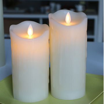 Vaxbatteri Operated Moving Flame Candle