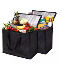 Christmas Gift Insulated Shopping Cooler Bag for Groceries or Food Delivery
