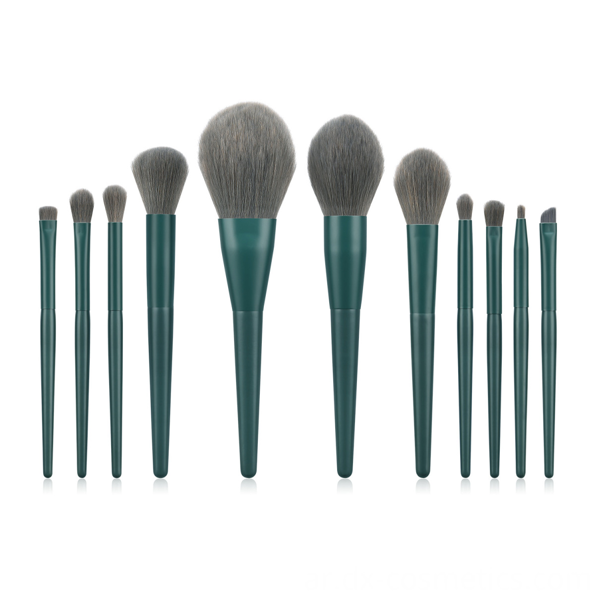 Gray Makeup Brush Holder Custom