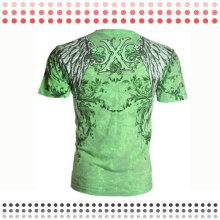 2016 Novo Design Personalizado Algodão Curto T-Shirts Esporte