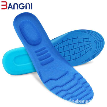 Espuma de memória Sweat-Absorbant Sport Massage Shoe Pad