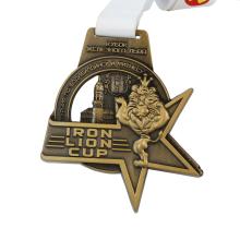 Medalhas de leão de metal feitas sob medida