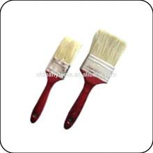 double beige bristle paint brush