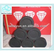 Coco Shisha Carbón de leña con briquetas