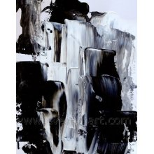 New Design Canvas Painting Geometrical Abstract Painting (XD1-306)