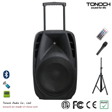 OEM 15 Inches Plastic Trolley PRO Audio with Battery