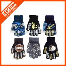 Acrylic knit custom fashion gloves