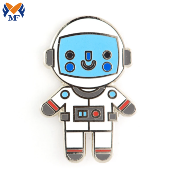 Metal Craft harde glazuur Astronaut Baby Pin