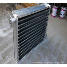 Metal aluminum alloy saw-toothed fins for radiator