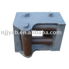 Fairlead with horizontal roller