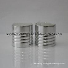24/410 aluminium filetage disque casquettes