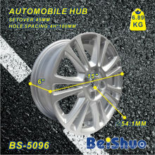 Aluminium Car Wheel Rims with Machine Cut Face