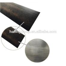azulejo de lujo del vinilo, azulejo normal seco del PVC de la parte posterior del tamaño estable, tablón del vinilo de la resistencia del rasguño