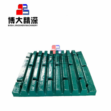 C145 JAW CRUSHER WEAR TEILE JAW PLATE