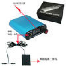 Mini Digital Tattoo Power Supply , Mental Power Supply Clipcord and Pedal